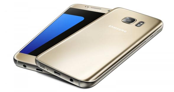 galaxy s7 32gb in gold platinum